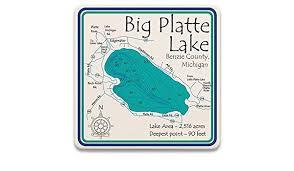 Amazon Com Devils And Round Lakes In Lenawee Mi 2046 La