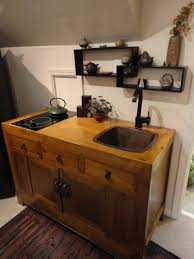 House Kitchen Furniture Mini Kitchen Unit By Ron Czecholinski Built From Some Antique
