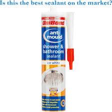 best bathroom shower sealant