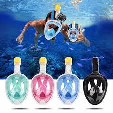 Полнолицевая <b>маска</b> для подводного плавания <b>FREE Breath</b> L/XL ...