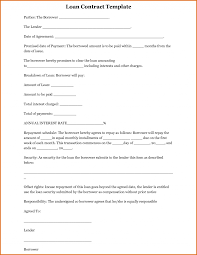 Individual Loan Agreement 24 Awesome Personal Loan Agreement Letter Sample Pics Complete 15