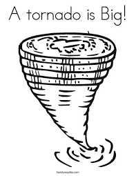 tornado coloring pages. Modren Pages Tornado Funnel Cloud Coloring Page With Pages C