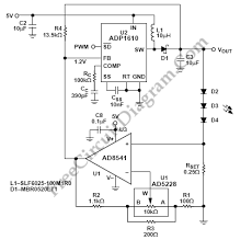 high power led driver circuit diagram high image adjustable high power led driver circuit wiring diagrams on high power led driver circuit diagram