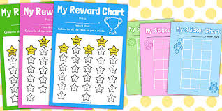 Sticker Chart Gorgeous Reward Sticker Chart Stars Reward Chart Reward Sticker