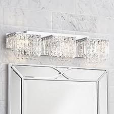 white bathroom lighting. Possini Euro Crystal Strand 25 3/4 White Bathroom Lighting I