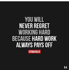 Hard Work Motivational Quotes Awesome Hard Work Pays Off П��🏽 Fitness Motivation Quote Inspiration