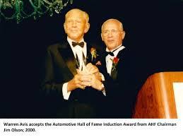 Warren E. Avis | Automotive Hall of Fame