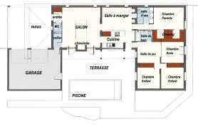 plan maison d architecte contemporaine