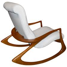 Rocking Chair Modern vladimir kagan contour chair in leather antiques rocking 8026 by uwakikaiketsu.us