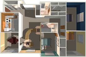 Exceptional Image Of: 1000 Sq Ft House Plans 3 Bedroom 3d