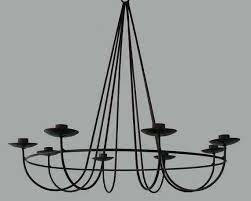 danish modern mid century candle chandelier vintage from hanging holders holder gem pillar ch