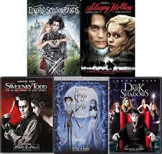 Tim Burton and Johnny Depp: Dark and Gloomy 5 Movie DVD Collection Edward  Scissorhands / Corpse Bride / Sweeney Todd and More: Amazon.de: DVD &  Blu-ray