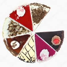 Pie Chart Of Cake Slices Stock Photo Viperagp 9182808