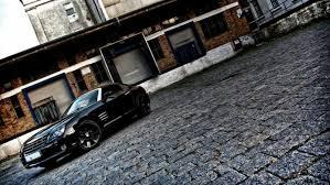 chrysler crossfire srt6 black. black sportcar chrysler crossfire srt6