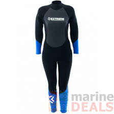 Buy Extreme Limits Reef Womens Steamer Blue Online At Marine
