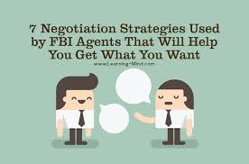 7 Negotiation Strategies Used By Fbi Agents That Will Help