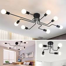 flush mount ceiling lights black pendant lighting large chandelier bar led lamp 12 12 of 12 see more