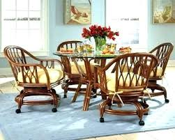 kitchen chairs with wheels dining room chairs on wheels swivel kitchen chairs wheels chair vine for