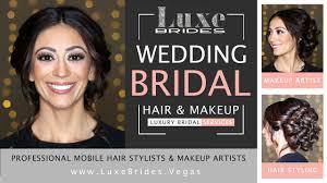 wedding bridal mobile hair stylist makeup artist services las vegas destination