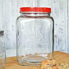 fresh homemade cookies large glass cookie jar