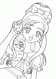 Coloring Pages Printable Anime Coloring Pages For Girls Free