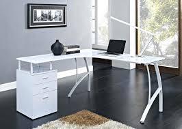 white office corner desk. Corner Desk: Small Desk Ikea Modern L White With Storage Home Office