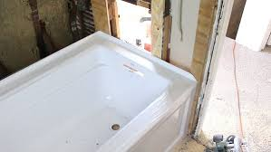 picture of mark position of tub