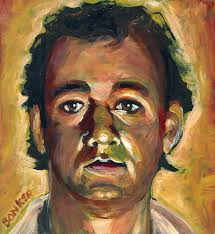 ghostbusters painting dr peter venkman by buffalo bonker