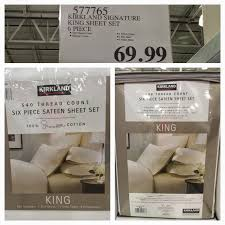 costco sheet sets. Simple Costco Sadly This Was Not The Case With My Purchase Of KS 100 Supima Cotton King  Size Sateen Sheet Set Item 577765 On Costco Sheet Sets T