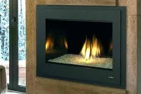 gas fireplace insert with glass rocks gas fireplace insert glass rocks