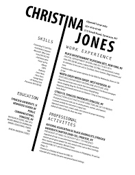 Adorable Great Resume Layout Style For Mla Resume Template