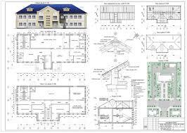 Проекты общественных зданий скачать Чертежи РУ Курсовой проект Здание общественного центра микрорайона 15 0 х 30 2 м в