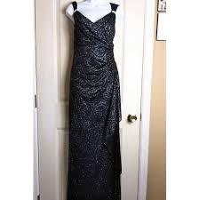 R M Richards Black Formal Dress