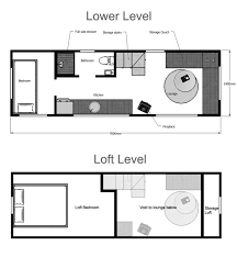 house floor plan. Tiny House Floor Plan I