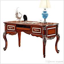classic office desks. 2018 French Baroque Style Luxury Executive Office Desk/ European Classic Wood Carving Writing Table/ Retro Home Furniture Pfy900 From Tengtank, Desks