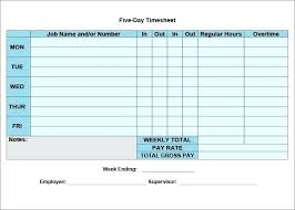 Multiple Employee Weekly Template Excel Example Daily Time Log Sheet