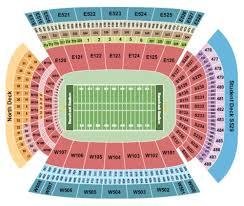 Razorback Seating Chart Donald W Reynolds Razorback Stadium Tickets Seating Charts