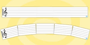 Stave Music Stave Display Banner Stave Display Banner Music Writing