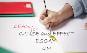 easy cause and effect essay topics easy cause effect essays topics analysis of zeitoun