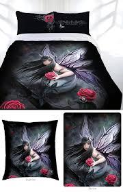 rose fairy bed linen