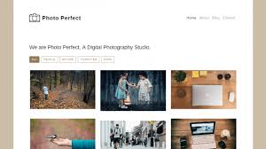 Bootstrap Designs Gallery Free Photo Gallery Template Built With Bootstrap 4 Super