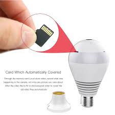 Ebay Light Bulb Camera Details About 360degree Panoramic 1080p Hd Hidden Wifi Ip Camera Light Bulb Home Security Lamp