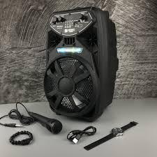 559,300đ - Bộ Loa Kéo Di Động Bluetooth Không Dây Kimiso Qs-2802 Kèm Micro  Có Dây , Âm Thanh Chất Lương Cao, Âm Bass Hay mua ngay - Tài trợ