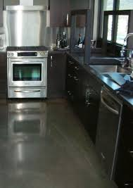 Concrete Floors In Kitchen Mode Concrete Help Remedy Lackluster Concrete Floors By Finishing