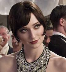 elizabeth debicki with deep chestnut brown haircolor in the great gatsby
