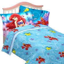 little mermaid twin bedding little mermaid cascading flowers twin sheet set little mermaid twin bedding