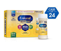 Enfamil Newborn Formula Feeding Chart Enfamil Neuropro Infant Formula Ready To Use 2 Fl Oz Bottles Case Of 24