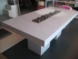 polished concrete furniture. Concrete Table Base Tables Polished Furniture Dining And Chairs O