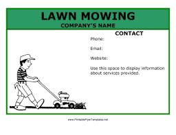 lawn care templates lawn mowing flyer lawn care template planet surveyor com