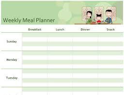 Free Online Monthly Planner 002 Free Online Weekly Meal Planner Template Ideas